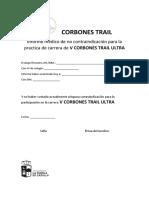 Certificado Medico Ulta Trail