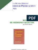 BOSQUEJOS DE SERMONES SELECTOS - ERNESTO BAROCIO
