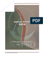 Annual Report of NAFSO-2019