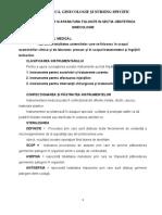 Curs 2 - Instrumentarul Si Aparatura Utilizate in OG