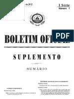 Sup B O I Série nº 1 - 2012indd