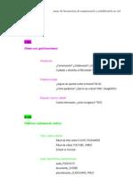 Curso de herramientas de comunicación