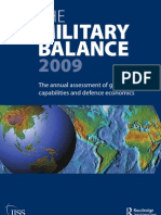 Military Balance brochure 2009