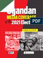 Uganda Media Coverage of the 2021 Elections - December 2020