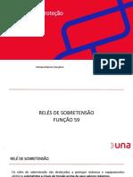 03 F - Relés de Proteção - Relé de Sobretensão (59) e Subtensão (27)