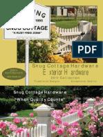 Snug Cottage Hardware Catalog 2011