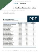 Fundo misto no Brasil tem boa reação a crises _ Finanças _ Valor Econômico