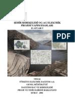 Şehir şebekeleri OG-AG Elektrik Projesi Yapım Esasları el-kitabi-5