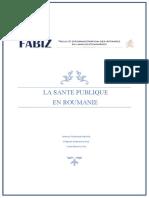 LA SANTE PUBLIQUE EN ROUMANIE.docx