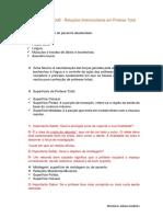Monitoria - Relações Intermaxilares em PT