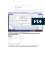 Instalare Componenta Report Viewer in Visual Studio 2019