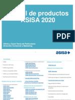 2020. Manual de Productos ASISA 2020