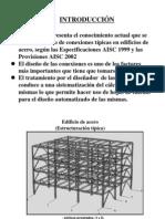 Conexiones en edificios de acero y su automatización para el diseño estructural