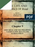 CHAPTER 9 Jose Rizal and the Philippine Nationalism Bayani and Kabayanihan .Pptx