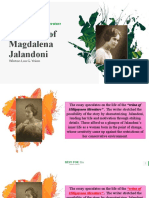 The Love of Magdalena Jalandoni
