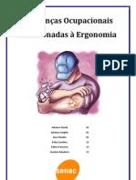 Doenças Ocupacionais Relacionas à Ergonomia - Texto para entregar