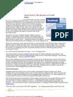 Goldaman Facebook Deal_Wharton