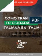 Guia_ciudadania_italiana_en_Italia_espartedelviaje