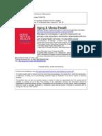 Dearman AMH 2006 Management strategies in geriatric depression by