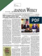 The Ukrainian Weekly 2011-08