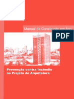 PREVENÇÃO CONTRA INCÊNDIO NO PROJETO DE ARQUITETURA