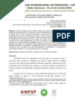 FIPED_De Jornalista a Professor