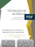 Clase 1 Tecnologia de los materiales.pptx