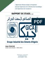 Rapport de stage GICA