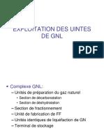 EXPLOITATION DES UINTES DE GNL