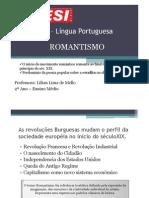 2011_2 – Língua Portuguesa_Roamantismo_história
