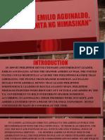 Emilio Aguinaldo, Mga Gunita Ng Himagsikan [Autosaved]