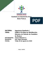 FORO Nº10_Investigar Métodos de Calculo de Caudales de Redes Cerradas