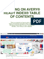 Printing on Avery® Ready Index® Table of Contents.pdf