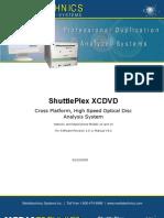 Shuttle Plex Manual