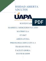 FINAL DE PSICOLOGIA EDUCATIVA 1