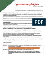 1-Reflux gastrooesophagien