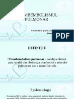 Trombembolia pulmovara.Vasiliev Radu,M1503 (1)