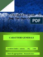 coloranti acidi