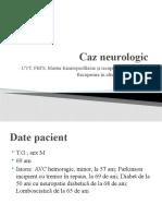 Neurologie Caz