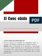 EL CONCEBIDO