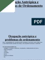 4.1. Ocupação Antrópica e Problemas de Ordenamento