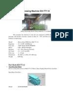 Introduce EFB Pressing Machine KH