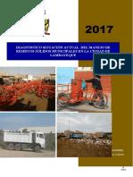 Diagnóstico Manejo de residuos sólidos - 2017
