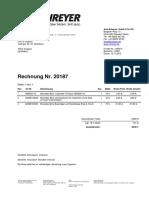 Rechnung Schreyer