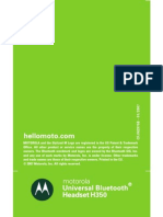 Motorola H350 - Bluetooth Headset