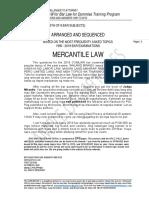 1990-2019 COMMERCIAL LAW BQA