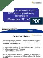 ESTANDARES MINIMOS RESOLUCION 1111 DE 2017