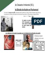 Caso de Dioxido de Azufre