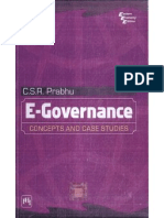 E-governance- concepts and case studies By C.S.R. Prabhu