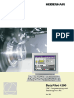 Data Pilot 4290 CNC Programming and Training on a PC